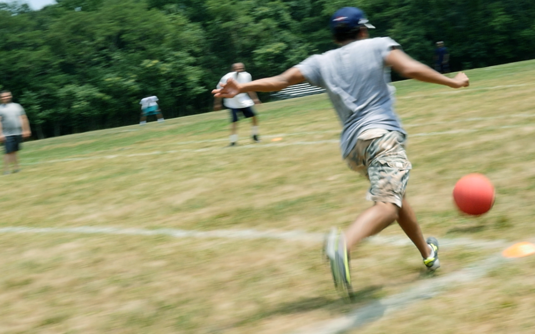 Running Crazy for Kickball with my Glidecam